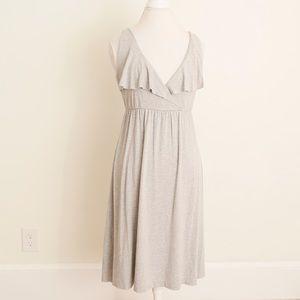 NWOT Grey J. Crew Midi Dress